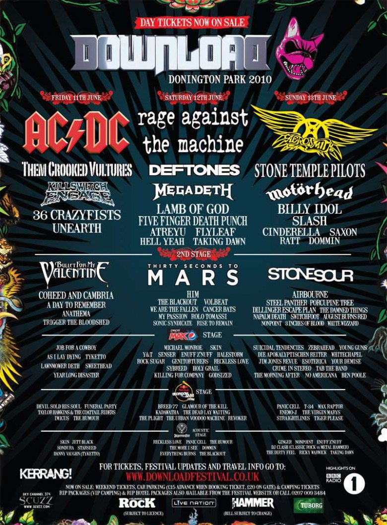 Download 2010 | Rock & Metal wiki | FANDOM powered by Wikia