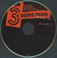 3 Doors Down, Better.cd
