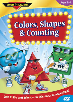Rock 'N Learn- Colors, Shapes, & Counting Cover