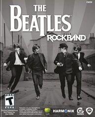 The Beatles Rock Band box art