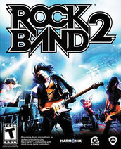 Rock Band 2 Game Cover