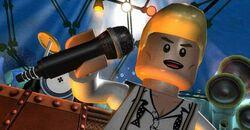 Lego-rock-band David Bowie