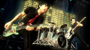 Green Day Rock Band Screenshot