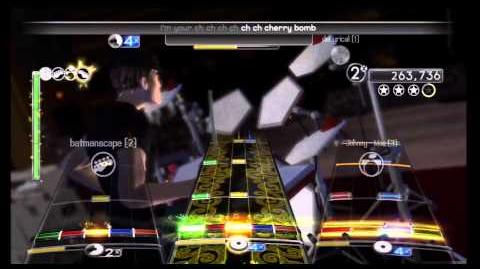 "Rock Band 2 - Full Band - ""Cherry Bomb"" as made famous by The Runaways"