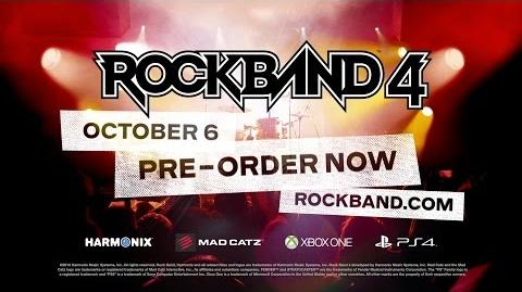 "Rock Band 4 E3 ""Freestyle"" Trailer-1"