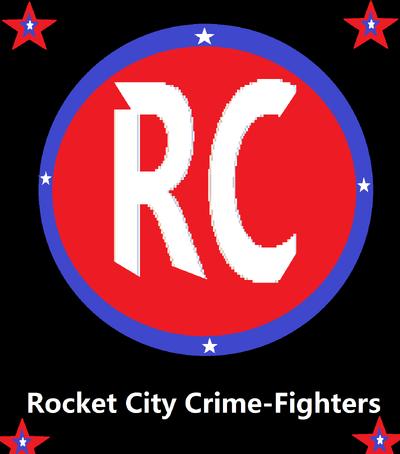 Rocket city crimefighters logo