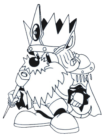 File:King Zebulos (Rocket Knight Adventures Europe Manual Line Artwork).png