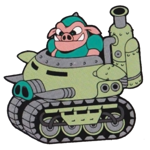 Pig Tank (Rocket Knight Adventures Official Artwork)