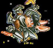 Axle Gear (Rocket Knight Adventures Advert Artwork)
