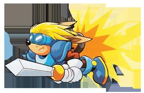 File:Sparkster (Sparkster- Rocket Knight Adventures 2 Sparkster Flying Artwork).png