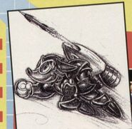 Rocket Knight Adventures Concept Artwork Sparkster