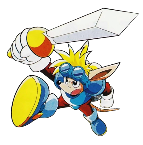 File:Sparkster (Sparkster- Rocket Knight Adventures 2 Official Artwork 2).png
