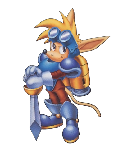 File:Sparkster (Sparkster- Rocket Knight Adventures 2 Official Artwork 3).png