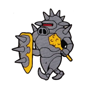 Invincible Armored Pig (Rocket Knight Adventures Official Artwork)
