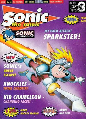 Sparkster lotrk cover
