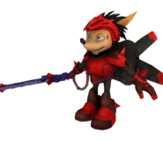 Axel Gear Rocket Knight Model