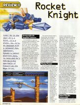 Hyper Magazine -1 Rocket Knight Adventures Review Page 44