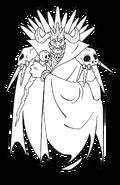 King Gedol (Sparkster- Rocket Knight Adventures 2 Europe Manual Line Artwork)