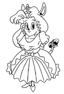 Princess Sherry (Rocket Knight Adventures Europe Manual Line Artwork)