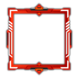 Thermoplastic avatar border icon