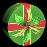 Mistletoe wheel icon