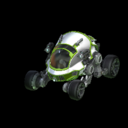 Scarab body icon lime