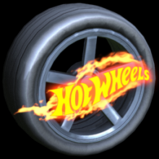 Hot Hot Wheels wheel icon