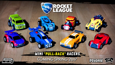 Rocket League Mini Pull-Back Racers