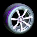 Septem wheel icon purple