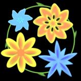 Springtime flowers boost icon