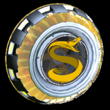 Usurper Holographic Splyce wheel icon