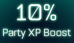 10% Party XP boost icon