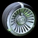 Turbine wheel icon black