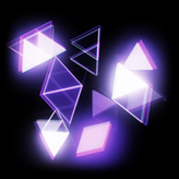 Synthwave rocket boost icon