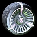 Turbine wheel icon pink