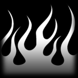 Flames decal icon
