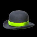 Bowler topper icon lime