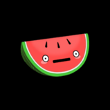 Worried Watermelon topper icon