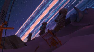 Badlands (Night) Moai