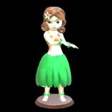 Hula Girl antenna icon