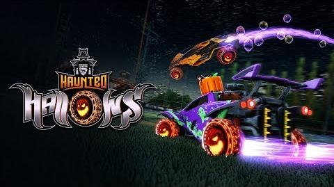 Rocket League® - Haunted Hallows 2018 Trailer