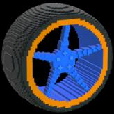 Low-Poly TE wheel icon