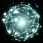 Poly Pop goal explosion icon