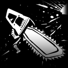 Chainsaw decal icon