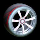 Septem wheel icon crimson