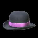 Bowler topper icon pink