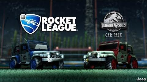 Rocket League® - Jurassic World™ Car Pack Trailer