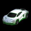 Endo body icon forest green