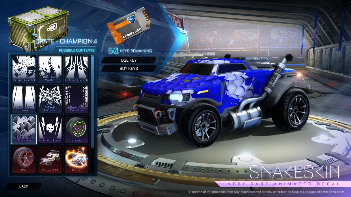 What Is A Crate Engine Wiki >> Image - Crate - Champion 4 - Road Hog Snakeskin.jpg | Rocket League Wiki | FANDOM powered by Wikia