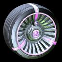 Turbine wheel icon purple